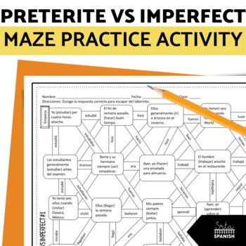 Preterite vs Imperfect- Spanish Laberinto