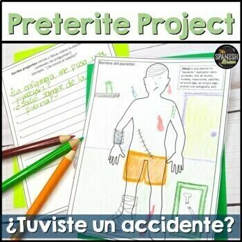 Preterite vs. Imperfect: creative writing- accident. Reali
