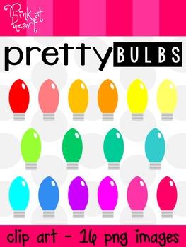 Pretty Bulbs Clip Art