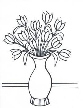 Pretty Flowers in a Vase