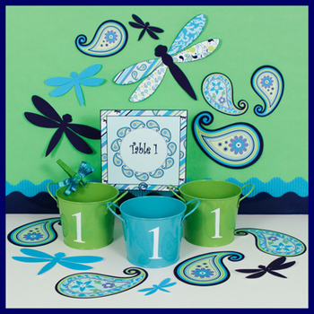 Center or Table Signs - Editable - Coordinates with Pretty
