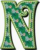 """Pretty Posies Decorative Alphabet Art /  97 pcs - 4.5"""" Hig"""