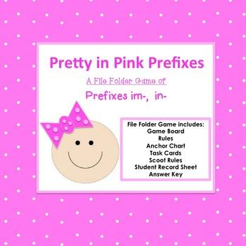 Pretty in Pink Prefixes in-, im-