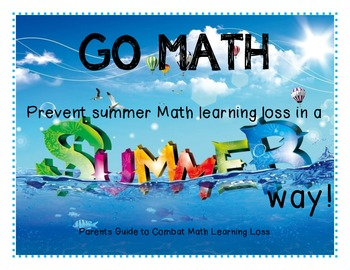 Preventing Summer MATH Loss in a Summer Way!
