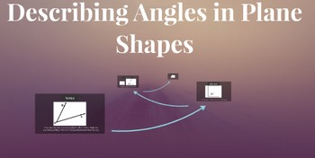 Prezi: Describing angles found in plane shapes