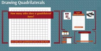 Prezi:Drawing Quadrilaterals/Comparing Quadrilaterals and