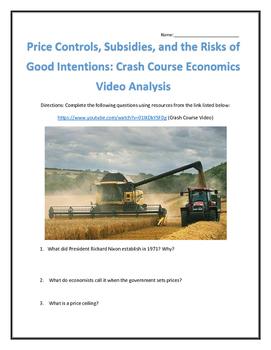 Price Controls and Subsidies: Crash Course Economics Video