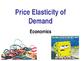 Price Elasticity of Demand (PED) - Microeconomics - Elasti