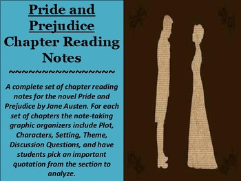 Pride and Prejudice Chapter Reading Notes