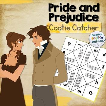 Pride and Prejudice Cootie Catcher with Higher Order Discu