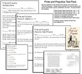 Pride and Prejudice Test Pack -- Jane Austin