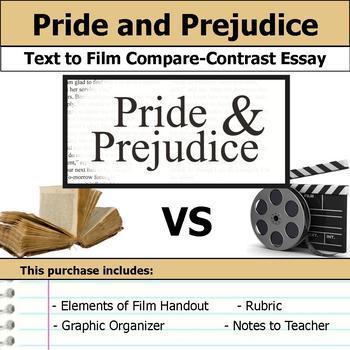 Pride and Prejudice - Text to Film Essay Bundle