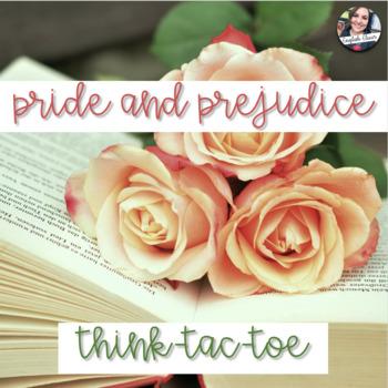 Pride and Prejudice - Think Tac Toe - Digital Resource