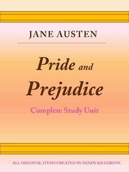 Pride and Prejudice by Jane Austen: Complete Study Guide (