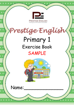 English Exercise Book – Primary 1 SAMPLE ( FREE / FREEBIE )