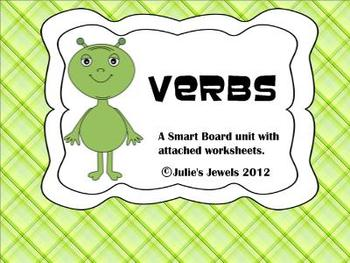 Primary Alien Smart Board Verb Unit