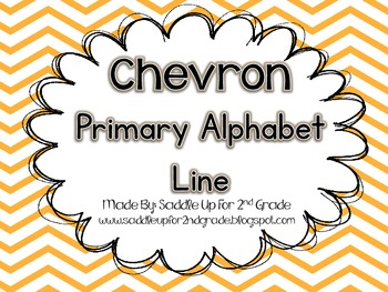 Primary Alphabet Line: Chevron
