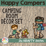 Primary Camping Room Theme Decor - Back to School with Edi