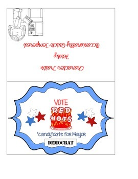 """Primary """"Candy""""date Election Cards"""