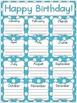 Primary Polka Dot Birthday Posters
