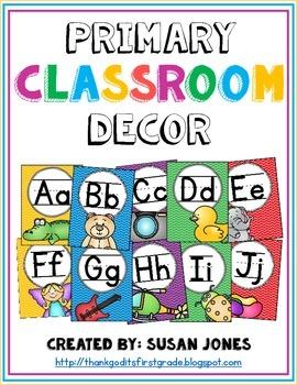 Primary Classroom Decor