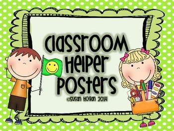 Primary Classroom Helper Posters