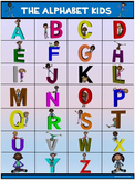 Classroom Fun Poster: The Alphabet Kids