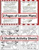 Primary Colors and Music Listening Activity Sheets