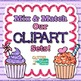 Violet Primary Dots Alphabet Clip Art {Great for Classroom