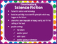 Primary Dots Decor: Genre Posters & Book Bin Labels