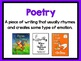 Primary Genre Posters