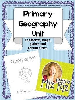 Primary Geography Packet