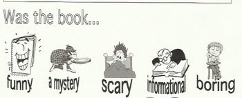 Primary Grades Book Report Template