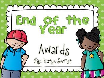 Primary Grades Classroom Awards