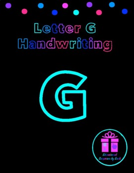 Primary Handwriting Practice - Letter G