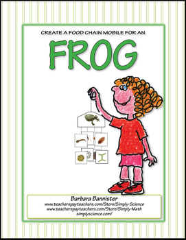 Primary Life Science: Food Chain Mobile for a Frog