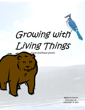 Primary Living Things Unit