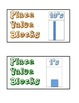Primary Math Manipulative Bin Labels