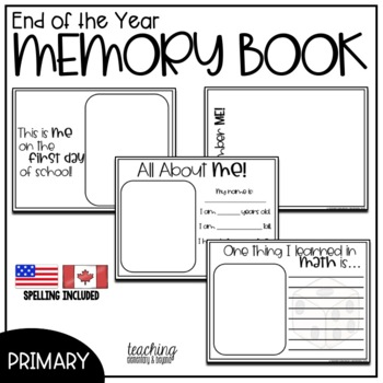 Primary Memory Book {A Year to Remember}