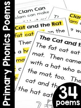 Primary Phonics Poems