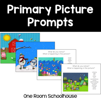 Primary Picture Prompts for Writing and Speaking
