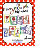 Primary Polka Dot Alphabet Posters