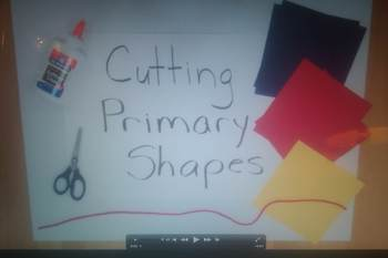 Primary Shape Mobile for Elementary Students