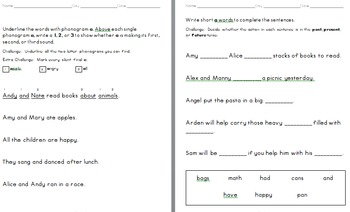 Primary Skills Packet