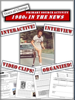 Canada and the 1980s: A Fun Primary Source Activity!