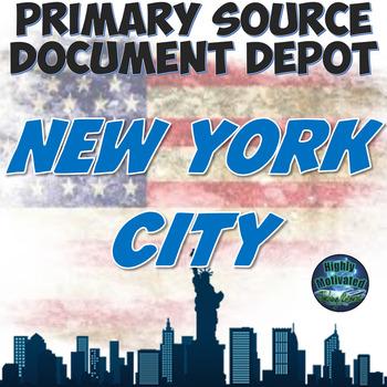 Primary Source Document Depot: New York City