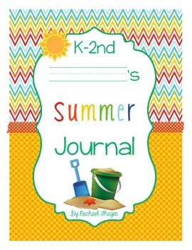 Primary Summer Writing Journal