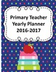 Primary Teacher 2016-2017 Planner