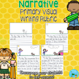 Visual Writing Rubric (Primary Grades)