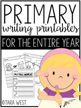 Primary Writing Templates for the Entire Year